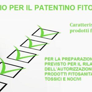 Questionario: Caratteristiche e scelta dei Prodotti fitosanitari