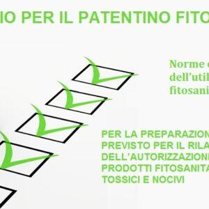 Questionario: Norme da seguire prima dell'utilizzo dei prodotti fitosanitari