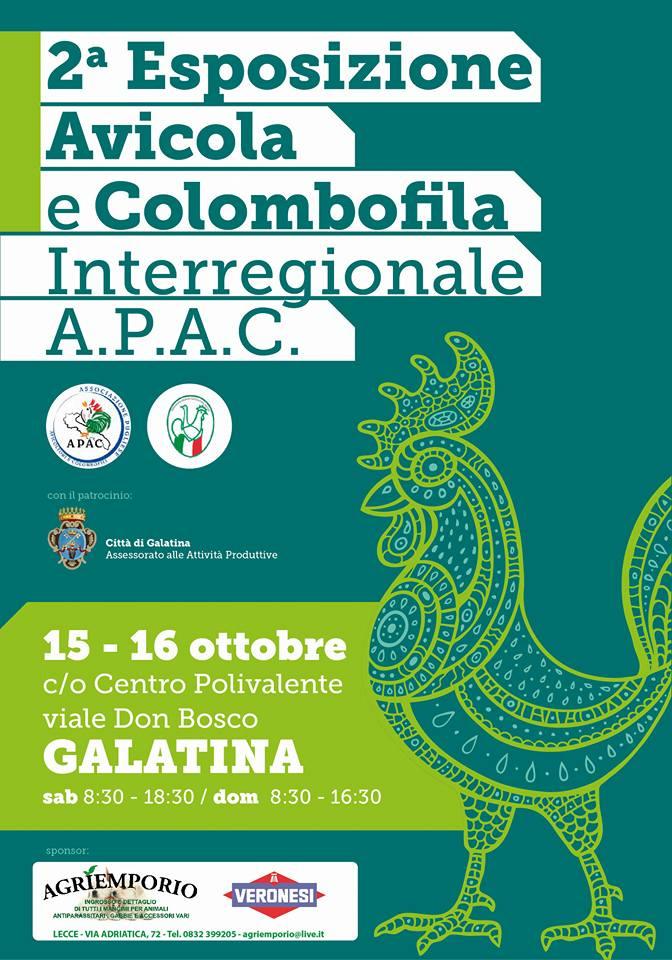 2° Esposizione Avicola e Colombifila interregionale A.P.A.C.
