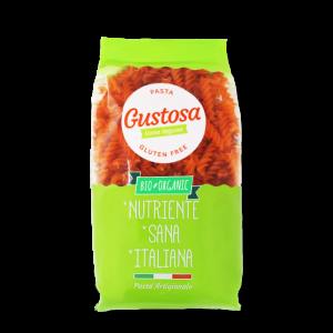 FUSILLI Gluten Free di LENTICCHIA ROSSA BIO Italiana (250g)