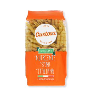 PENNE RIGATE Gluten Free di RISO INTEGRALE BIO Italiano (300g)