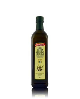 Olio extravergine di oliva Genesio Mancini – 12 pezzi da 1 Litro per confezione (in vetro)