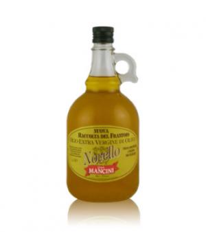 Olio extravergine di oliva Genesio Mancini – Novello – 6 pezzi da 1 Litro per confezione (in vetro)