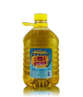 Olio di semi di girasole Genesio Mancini – 4 pezzi da 3 Litri per confezione