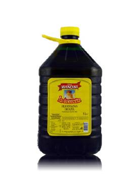 Olio di sansa di oliva Genesio Mancini – La Torretta – 2 pezzi da 5 Litri per confezione