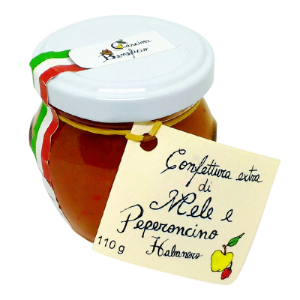 Confettura extra di mele e peperoncino habanero