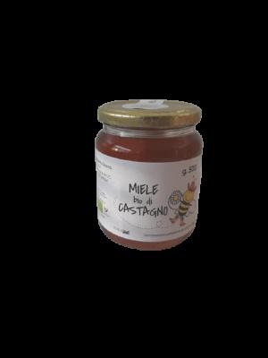 Miele BIO di castagno in vaso da 500 g