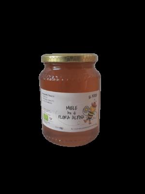 Miele BIO di flora alpina in vaso da 1000 g