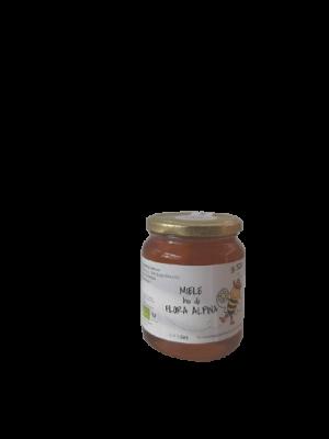 Miele BIO di flora alpina in vaso da 500 g