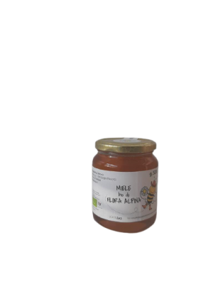 Miele BIO di flora alpina in vaso da 250 g