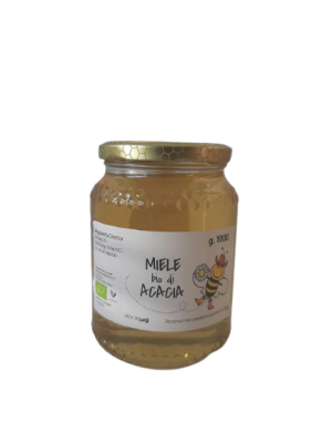 Miele BIO di acacia in vaso da 1000 g