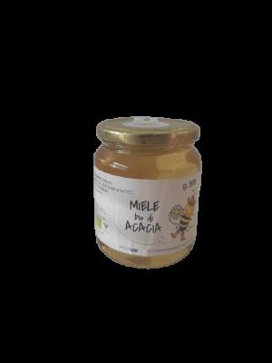 Miele BIO di acacia in vaso da 500 g
