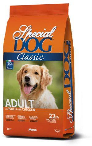"Special Dog Crocchette Classic Adult ""Monge"" sacco da 20 kg"