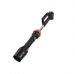 Soffiatore per condivisione di potenza Worx WG543, batteria da 20V, colore: Nero e Arancione