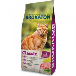 """Classic per gatto adulto """"Brokaton"""" sacco da 20 kg"""